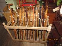 GOOD COLLECTION OF WALKING STICKS