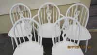 SET X 5 ERCOL CHAIRS