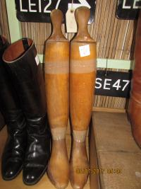 BOOT TREES/ LEATHER BOOTS etc