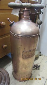 VINTAGE  COPPER  BACKPACK  SPRAYER