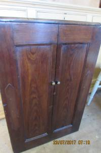 PITCH  PINE  MEDICINE  CUPBOARD