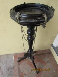 FRENCH ORMOLU EBONISED JARDINIERE STAND