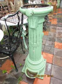 CAST IRON VICTORIAN DRINKING FOUNTAIN