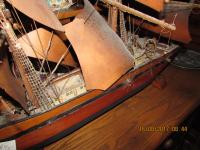 VICTORIAN  3  MASTED  SHIP  MODEL