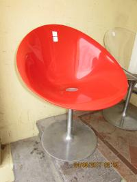 3  RETRO  EROS  CHAIRS  BY  KARTELL