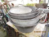 TIN  BATHS  LARGE  CHOICE