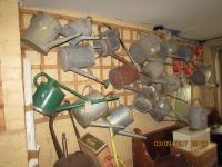DOZENS OF WATERING CANS  ALWAYS  AVAILABLE