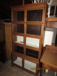 WERNICKE   CUPBOARD  BOOKCASE