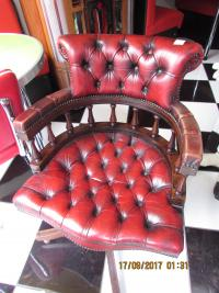 LEATHER  CAPTAINS CHAIRS