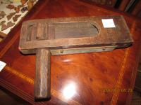OLD  WOODEN  BIRD  SCARER