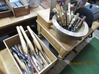 WOODWORKING  CHISELS  LARGE  CHOICE