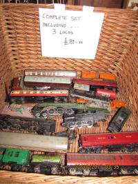 Railway set with 3 Locos etc