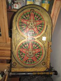 Scarce Tinplate Bagatelle Game  1950