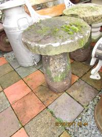 Staddle Stones (pair) Genuine Antique