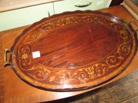 Victorian Inlaid Serving Tray