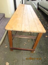 14 X  10 seater Pine Tables
