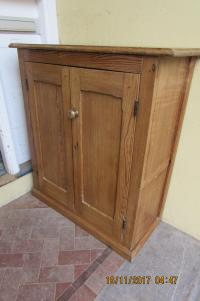 PINE SHELVED KITCHEN UNIT