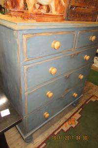 SHABBY CHIC VICTORIAN  CHEST OF DRAWERS