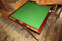 EDWARDIAN GAMES TABLE (collapsible)
