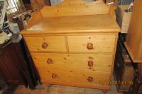 PRISTINE  PINE  CHEST  OF  DRAWERS