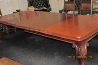 16 SEATER MAHOGANY DINING TABLE