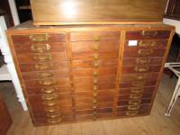 Watchmakers Cabinet drawers