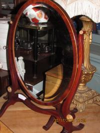 Good PAIR EDWARDIAN TOILET MIRRORS