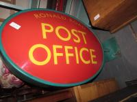 POST OFFICE HANGING SIGN