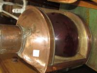SHIPS COPPER LAMP