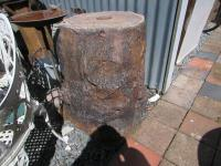 Bretby tree trunk base
